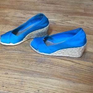 Ralph Lauren wedged shoe
